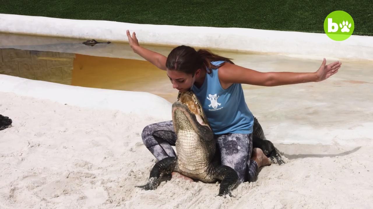 Gator Girl - The girl that loves alligators