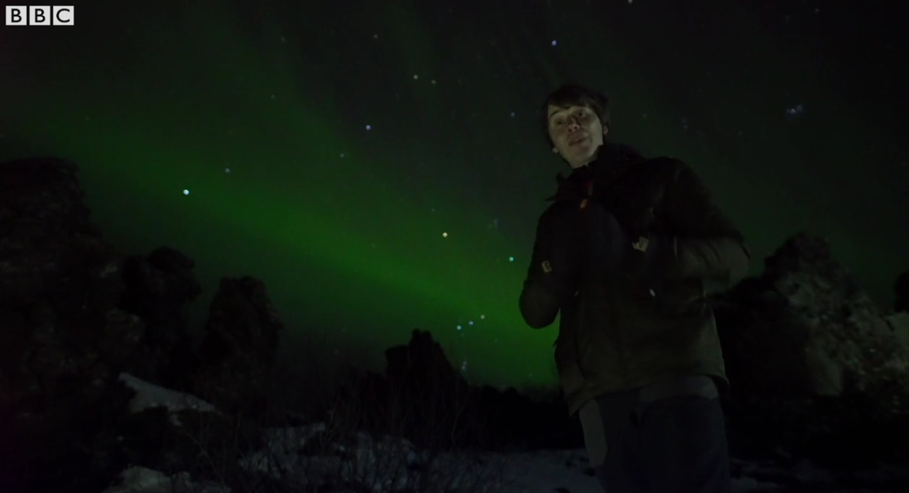 What do the Northern Lights Reveal ?