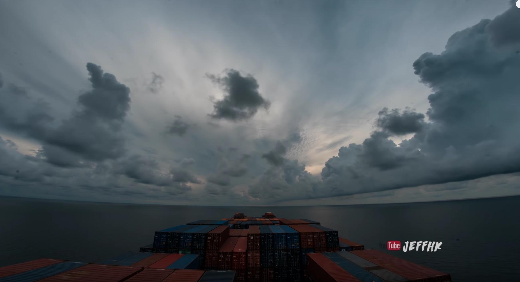 30 Days At Sea Beautiful Timelapse