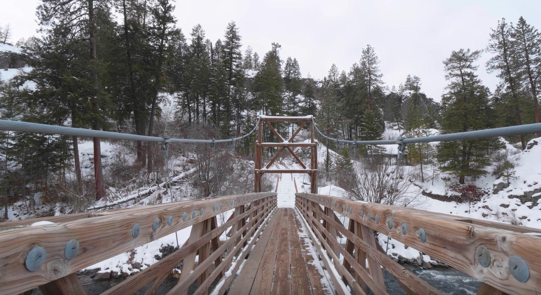 Beautiful Winter Walk