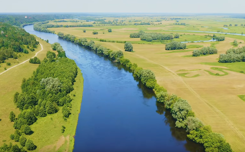 Scenic Rivers Of Ukraine