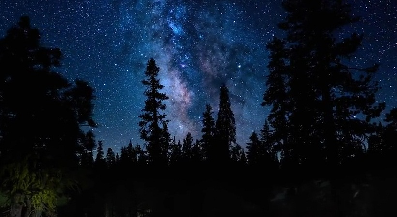 The Milky Way A Beautiful Timelapse
