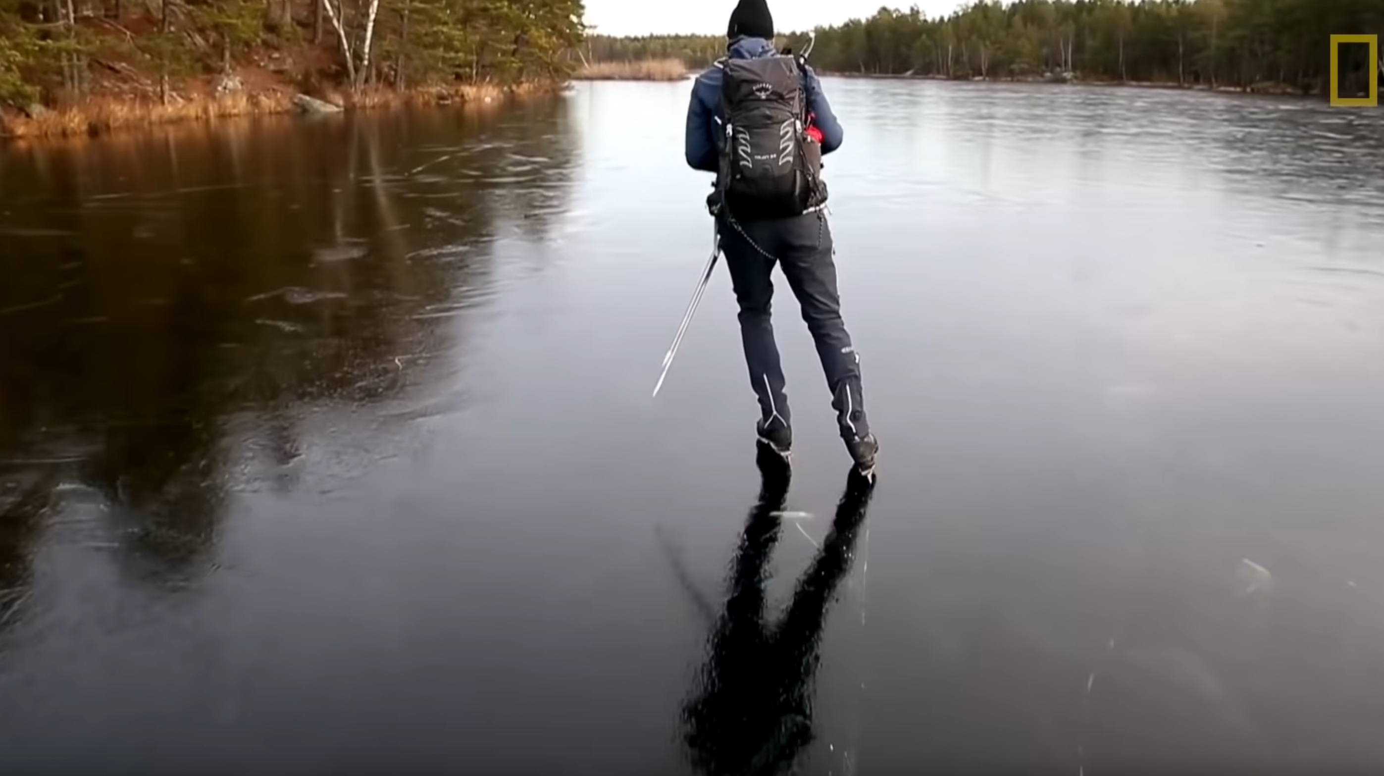 The Awesome Sound Of Skating On Thin Ice