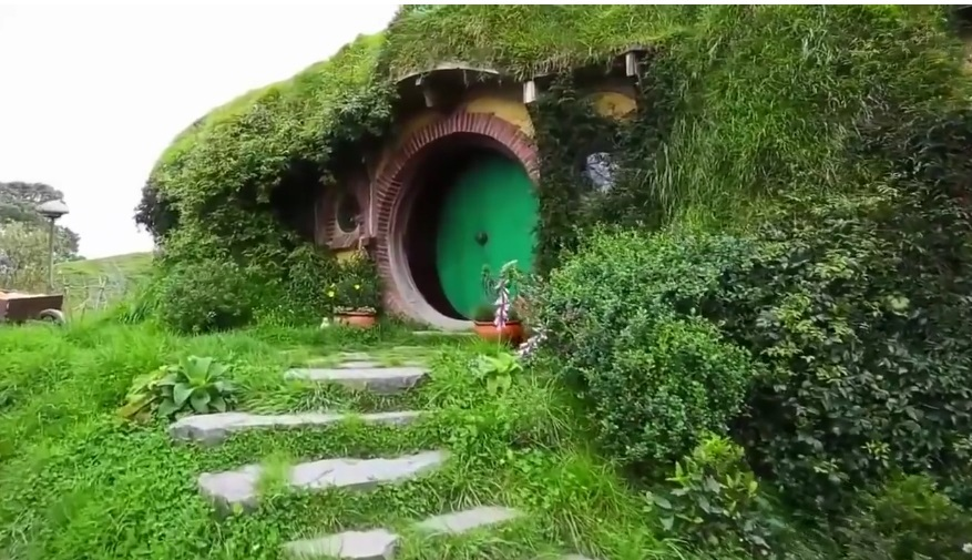 The Hobbiton Village In New Zealand